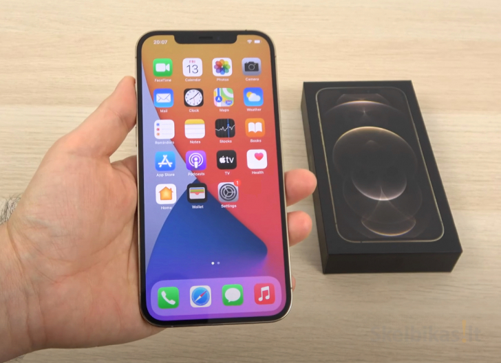 IPHONE 12 PRO-AMOLED-512GB+DEKLAS DOVANU..